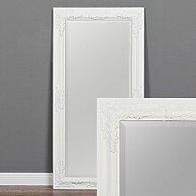 LEBENSwohnART Wandspiegel BESSA weiß-pur 100x50cm
