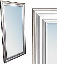 LEBENSwohnART Wandspiegel Kim Silber 200x110cm