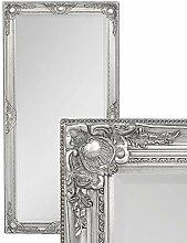 LEBENSwohnART Wandspiegel LEANDOS Silber-antik