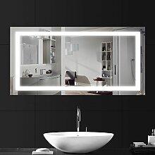 LEBRIGHT Badspiegel Beleuchtung 100x60cm 23W LED