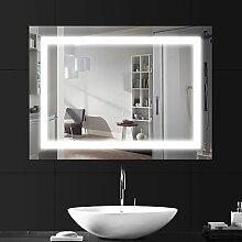 LEBRIGHT LED Badspiegel 60x80cm 18W, Badspiegel