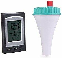 LECHI Funk-Thermometer, kabellos, LCD-Display,