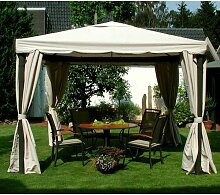 LECO 4er-Set Seitenteile für Pavillon SAHARA 3x3m
