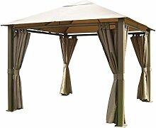 Leco Dachtextil zum Pavillon Nomado, taupe, 300 x 365 x 1 cm, 16653102