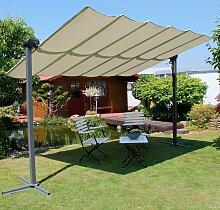 Leco Pavillon Waved, BxT: 250x350 cm, mit