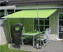 Leco Terrassenüberdachung Speer in grün 3 x 3m