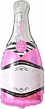lecoolz XXL Helium Folienballon Champagner
