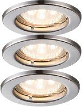 LED 3-flg Spot Strahler Lampe Beleuchtung rund