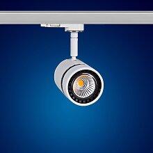 LED 3 Phasen Strahler 8W Warmweiss für