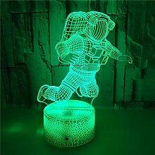 LED 3D Nachtlicht Astronaut Optische