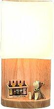 LED 5W Wandleuchter Wandlampe IACON Modern Holz