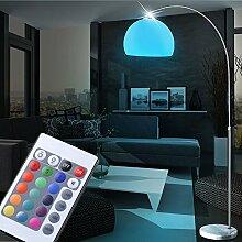 LED 7 Watt Farbwechsel Stand Leuchte Marmor Sockel