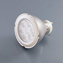 LED 7W Leuchtmittel Strahler GU10 Lampe Ersatzlampe Spot 7 Watt neutralweiß Grau