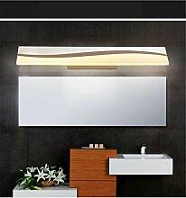 LED Acryl Bad WC Spiegel Lampe