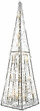 LED Acryl-Pyramide von Kaemingk | Maße: 11x11x40