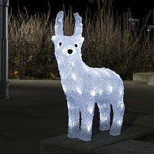 LED Acryl Rentier Die Saisontruhe