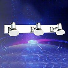 LED-Acryl-Spiegel Frontlampen Moderne Minimalistische Art Und Weise Edelstahl Bad Toilette Wandleuchte