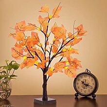 LED Ahornblatt Baum Licht, 50cm 24 LEDs