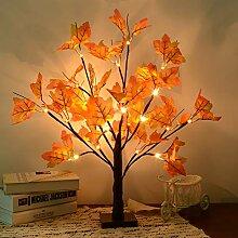 LED Ahornblatt Baum Licht,50cm 24 LEDs