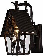 LED Aluminium Wandleuchte Outdoor Villa Wohnzimmer