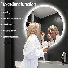 LED Anti-Fog Rund Badspiegel Wandspiegel