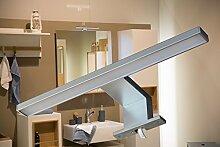 LED Aufbauleuchte / Alu / Lichtfarbe kalt weiß / Art. 2036 / Schrankleuchte / Spiegelschrankbeleuchtung / Spiegelleuchte / Badleuchte