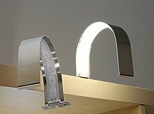 LED Aufbauleuchte Chrom / Art.7030 / Schrankleuchte / Spiegelleuchte / Badleuchte HELITEC