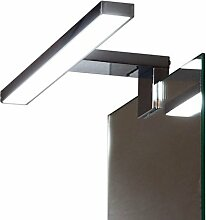 LED Aufbauleuchte / Klemmleuchte / 2041N / kalt weiß / Schrankleuchte / Spiegelschrankbeleuchtung / Spiegelleuchte / Badleuchte