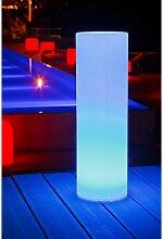 LED Außen-Dekolampe Tower 70cm Akkubetrieb mit