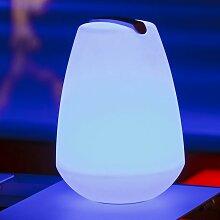 LED Außen-Dekolampe Vessel 1 Akkubetrieb mit