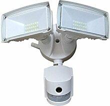 LED Außen Wand Lampe WIFI Kamera SD Spot Sicherheit APP Sensor IP44 Fluter EEK A V-TAC 5745