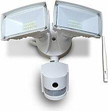 LED Außen Wand Lampe WIFI Kamera SD Spot