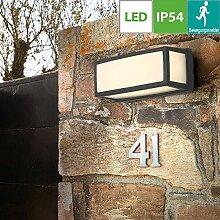 LED-Aussen-Wandleuchte, Aussenleuchte mit