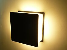 LED Außen-Wandleuchte Fulda 1 Wandlampe 4x15LED Hausbeleuchtung 12Watt 520lm 3000K Leuchte