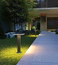 LED Außen Wegeleuchte Schwarz Aluminiumguss