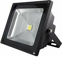 LED-Außenleuchte, 30W, 2400lm, Lichttemperatur 6000K, AC 230V, schwarz