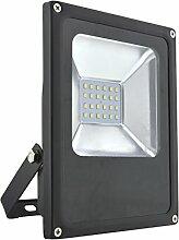 LED-Außenleuchte Hobby, 20W, 1200lm, Lichttemperatur 6000K, AC 230V, schwarz