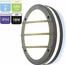 LED Aussenleuchte mit Bewegungsmelder,