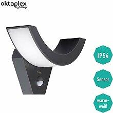 LED Außenleuchte mit Bewegungsmelder Lima 10W  