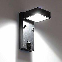 LED Außenleuchte mit Bewegungsmelder QR2S 5W