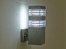LED Aussenleuchte, Wandleuchte, 80 LED, 6250 K, Jade Wall, 10254