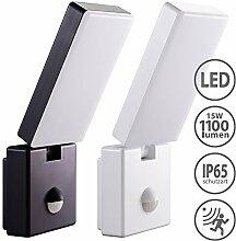 LED Aussenleuchten Bewegungsmelder schwenkbar