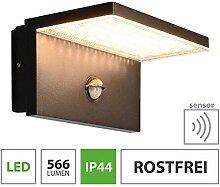 LED Außenwandleuchte Bewegungsmelder 10W