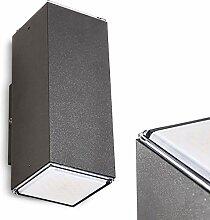 LED Außenwandleuchte Laxa aus Aluminium