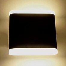 LED-Außenwandleuchte LED-Wandlampe Rostock 8 Watt