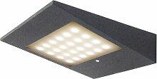 LED-Außenwandleuchte mit Arm und Bewegungssensor