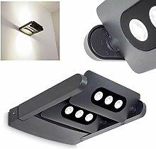LED Außenwandleuchte Tazlina aus Aluminium