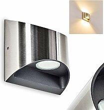 LED Außenwandleuchte VANO – moderner Up/Down