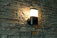 LED Aussenwandleuchte Wandleuchte Außen Camella 11W IP44 schwarz