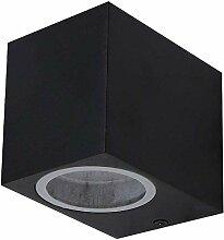 LED-Außenwandstrahler 5W GU10 | Wandleuchte Alu